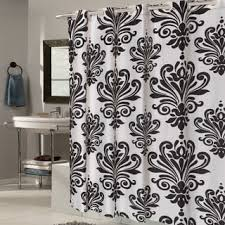 Hotel Shower Curtain With Snap In Liner Ez On White Check Fabric Shower Curtain Liner With Built In Hooks