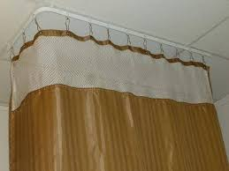Ceiling Curtain Rods Ideas Best Ceiling Curtain Track Home Depot Interior Design New Model