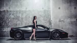 Ferrari 458 Black - brixton forged black ferrari 458 italia cars modified wheels