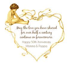 fiftieth anniversary décosse s dynamite doodles happy 50th anniversary momma poppa