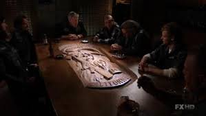 Sons Of Anarchy Meeting Table This Table Would Be So Cool To Reaper Crew Soa