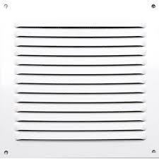 grille aeration chambre grille d aération aluminium laqué l 15 x l 15 cm leroy merlin