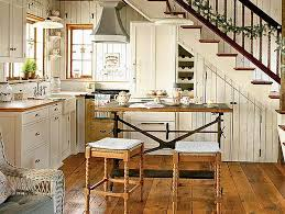 Cottage Style Kitchen Design - shaker style kitchen cabinets kitchentoday