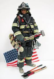 firefighter figurines and emergency figures
