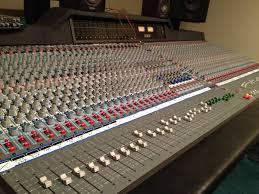 Recording Studio Mixing Desk by Amek Recall U2013 Rupert Neve 56 Channel U2013 Tacoma Recording Studio