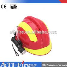 Fire Helmet Lights Rescue Fireman Helmet With Light For Firefighter Safety Helmet
