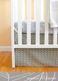 Crib Bed Skirt Diy Diy Make Your Own Crib Skirt Crib Skirts Lazy And Crib