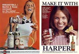 martini and rossi poster women selling booze the ladies of vintage alcohol advertising