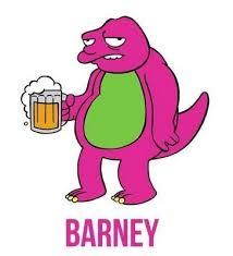 25 barney simpson ideas los simpson tv los