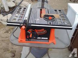 Black And Decker Firestorm Table Saw Black And Decker Table Saw Pictures To Pin On Pinterest Thepinsta