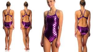 shiny swimsuit shiny purple swimsuit