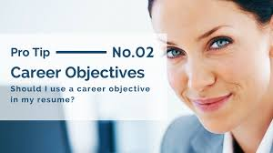 Resume Career Objective Should I Use A Resume Career Objective In My Resume