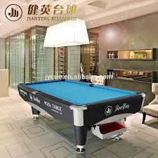 homeware standard billiard table size pool table dimensions