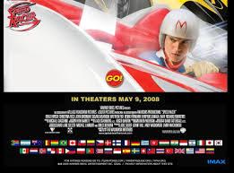 speed racer movie april 2008