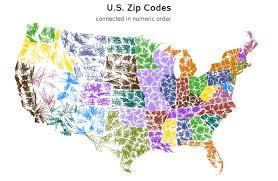 Zipcode Map Robert Allison U0027s Sas Graph Samples