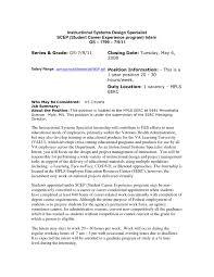 usa resume sle resume for us it sle resume for working students