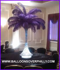feather centerpieces feather centerpieces