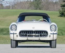 1953 corvette stingray the oldest production corvette in existence carfaces