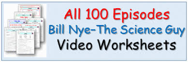 over 200 free student video worksheets for bill nye the science