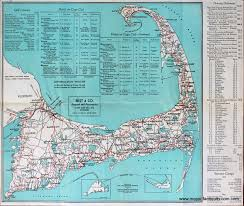 welcome to cape cod road map and directory sold
