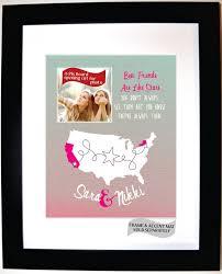best friend gift ideas custom birthday present moving away