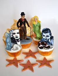 hollywood theme cupcakes for cake masters magazine miniature hand
