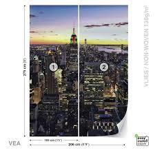 wall mural photo wallpaper xxl new york city skyline sunset jd wall mural photo wallpaper xxl new york city