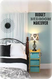 Bedroom Before And After Makeover - budget bedroom ideas