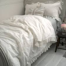Ruffle Duvet Cover Full Full Bloom Cottage