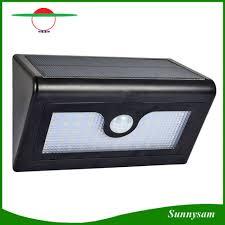 wireless sensor lights outdoor light led solar powered outdoor wall mount wireless security