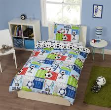 Childrens Single Duvet Covers Champion Soccer Bedding Full Duvet Cover Set Reversible Soccer