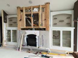 valley custom cabinets fireplace surround