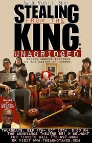 king inspired sketch comedy at the annoyance theatre