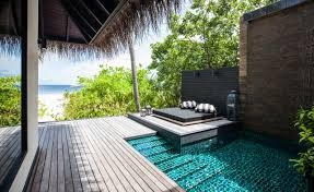 Pool Houses With Bars Maldives Resort Outrigger Konotta Maldives Resort Konotta Island
