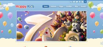 27 best kids html website templates wisset