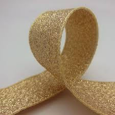 gold metallic ribbon glitter ribbons metallic ribbon lame