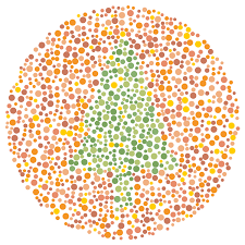 generating color blindness test images with processing