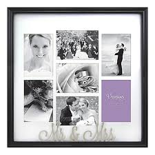 Bed Bath And Beyond Registry Wedding Occasions Mr And Mrs 7 Photo Wedding Collage Frame Bed Bath