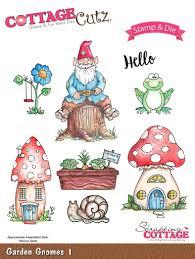 cottagecutz garden gnomes 1 stamp u0026 die