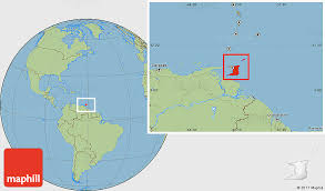 where is and tobago located on the world map savanna style location map of and tobago