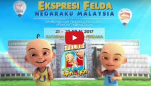 film upin ipin naik pesawat video upin ipin meriahkan hari peneroka 2017 suara tv