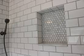 white subway tile shower 12 oaks