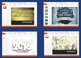 animated new year 2017 powerpoint templates slidehunter com