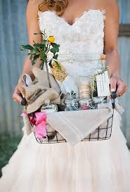 wedding gift basket ideas creative wedding welcome bag ideas brides