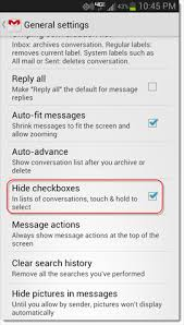 remove gmail from android a better way to select messages in gmail for android cnet
