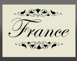 Shabby Chic Stencils by French Stencil Etsy