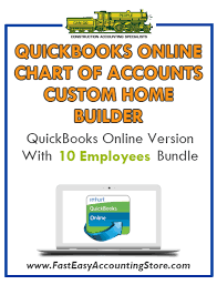 home builder online custom home builder quickbooks online chart of accounts with 0 10