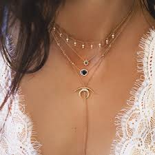 fine gold necklace images Side of cool layering ring online shopping and costume jewelry jpg