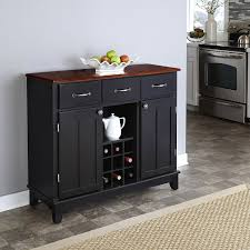 buffet kitchen furniture storage cabinets wine buffet hutch black sideboard cabinet white