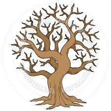 cartoon hollow tree by clairev toon vectors eps 40629